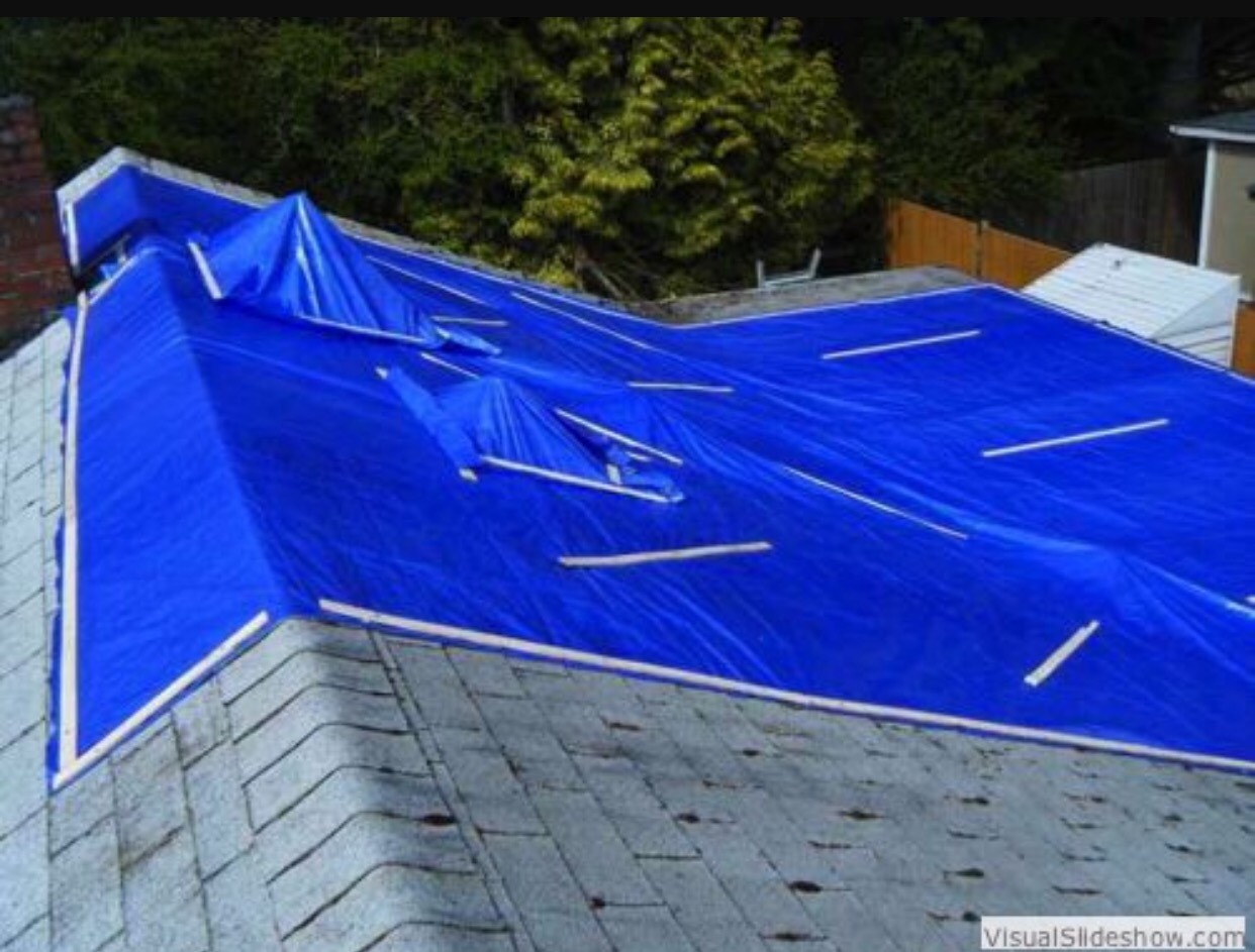 Emergency Roof Repair Roof Tarp