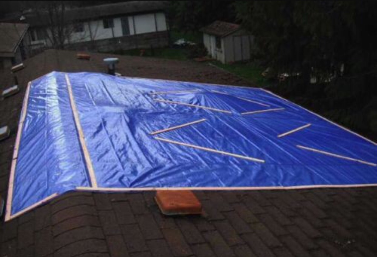Temporary Roofing Repair Amp Swipe Left Right To See More